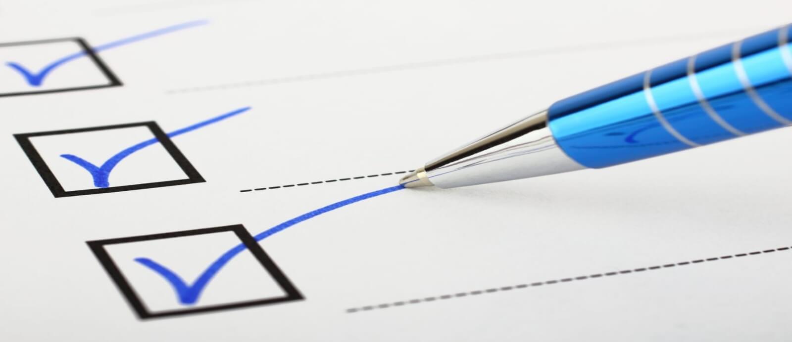 Checklist Marker